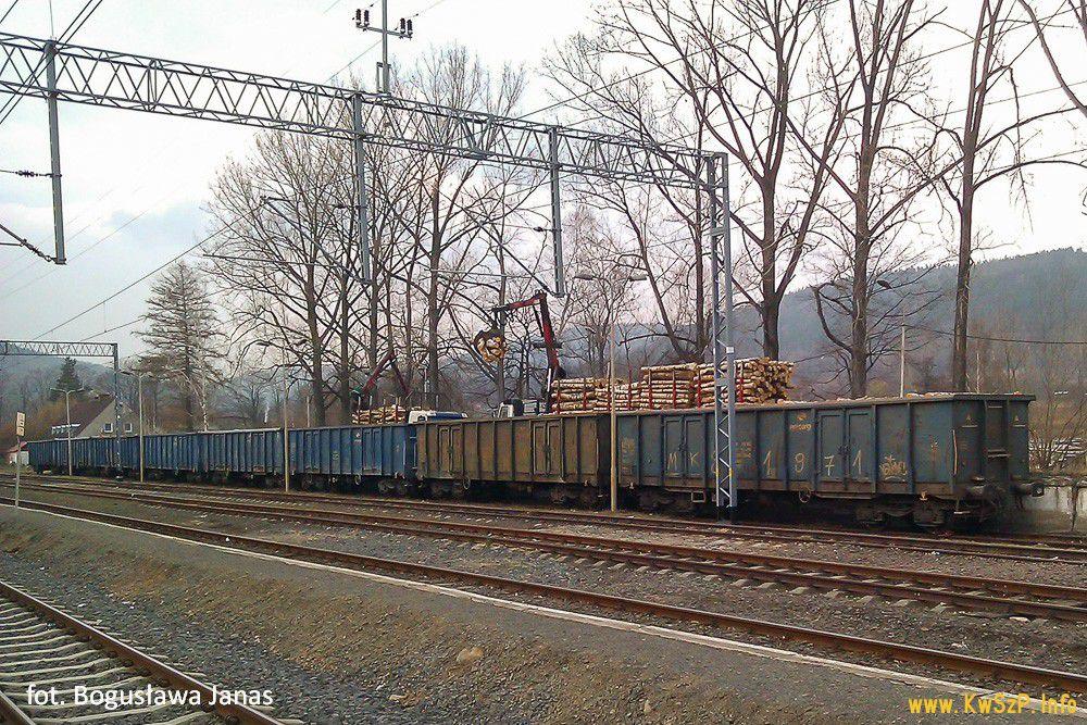 pociąg towarowy Piechowice