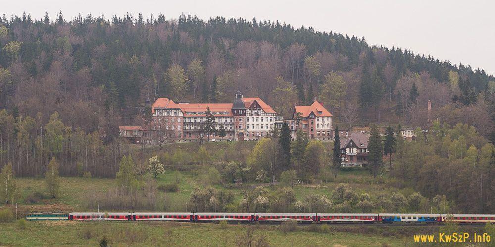 pociąg Mamry Szklarska Poręba