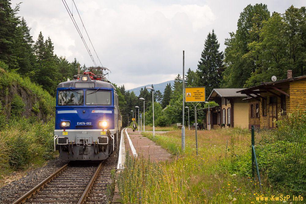 pociąg Jelenia Góra Szklarska Poręba Karkonosze