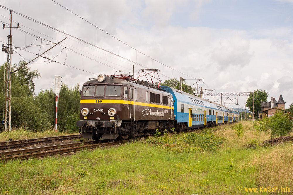 pociąg Poznań Jelenia Góra Szklarska Poręba Kamieńczyk